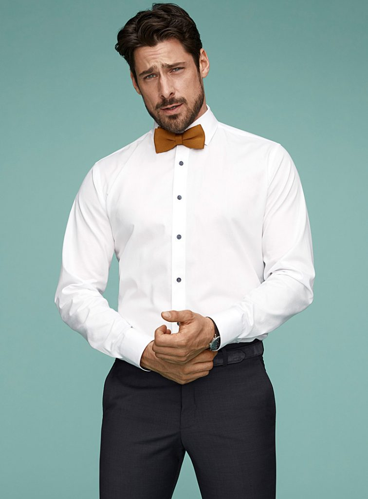 A dress shirt so people can know how to layer clothes